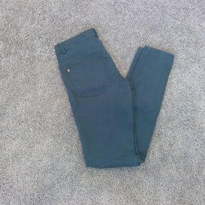 Teal H&M Skinny Jeans